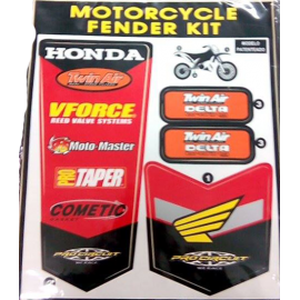 KIT AUTOCOLANTES FENDER MOTORCYCLE