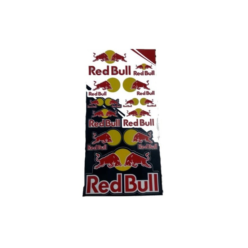 KIT AUTOCOLANTES RED BULL