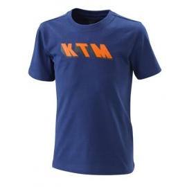 KIDS RADICAL TEE BLUE KTM