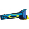 ÓCULOS OAKLEY CROWBAR MX BRAKING BUMPS BLUE GREEN - BLACK ICE IRIDIUM