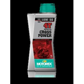 OLEO MOTOREX CROSSPOWER 4T 10W50 1LT